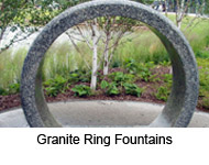 Granite Ring Fountains