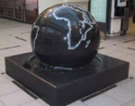 120cm Granite Floating Sphere Fountain