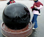 1200mm Granite Floating Sphere Fountain